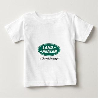 Land Healer: Land Rover parody Baby T-Shirt