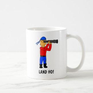Land Ho Pirate Mug