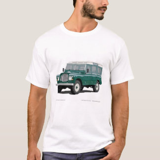 Land Landy Rover Car Classic Vintage Hiking Duck T-Shirt