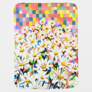 Land of Daisies Baby Blanket