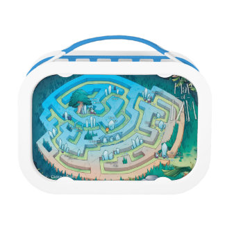Land of I AM Map Lunchbox