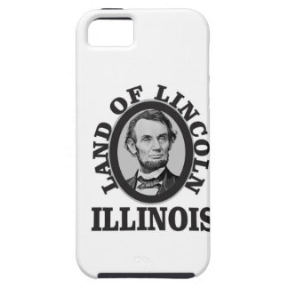 land of lincoln portrait case for the iPhone 5