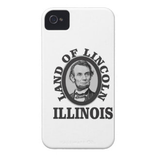 land of lincoln portrait iPhone 4 Case-Mate case