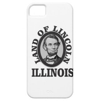 land of lincoln portrait iPhone 5 case