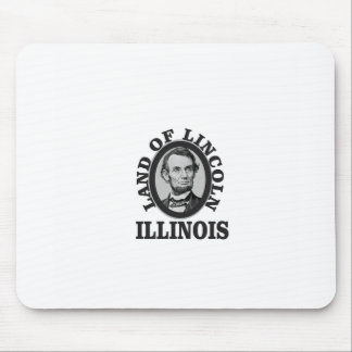 land of lincoln portrait mouse pad