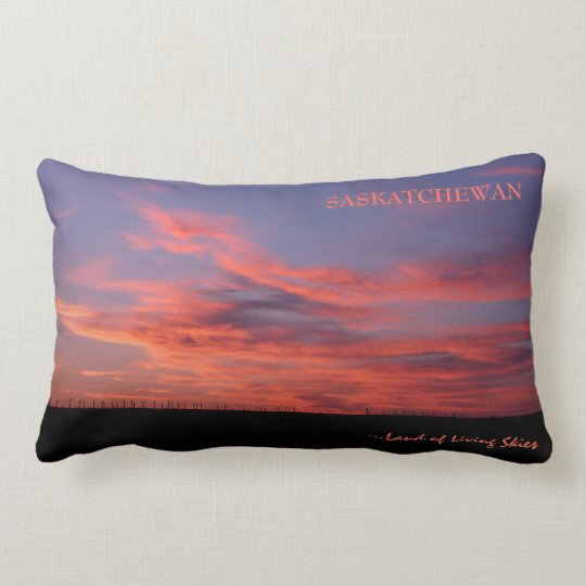 Land of Living Skies Lumbar Pillow