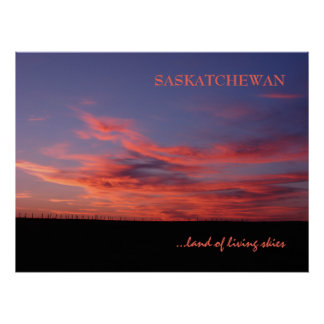 Land of Living Skies Photo Print