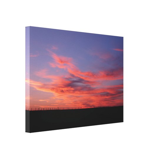 Land of Living Sky Stretch Canvas Print
