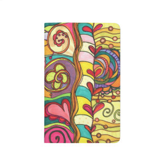 Land of Love and Color Doodle Jotter Journal