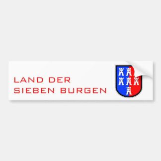Land of seven treasures bumper sticker
