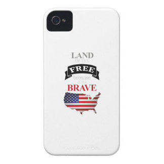 Land of the free because of the brave iPhone 4 cases