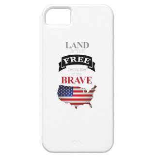 Land of the free because of the brave iPhone 5 cover
