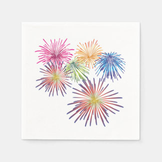 Land Of The Free July 4th Party Napkins Disposable Napkin