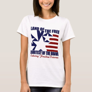 Land of the Free: OEF Vet T-Shirt