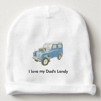 Land Rover baby beanie