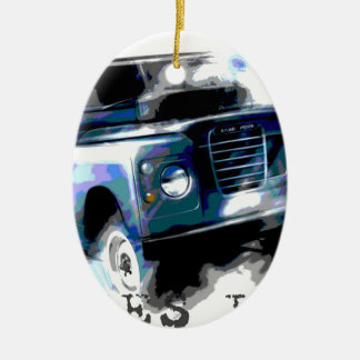 Land Rover Ceramic Ornament