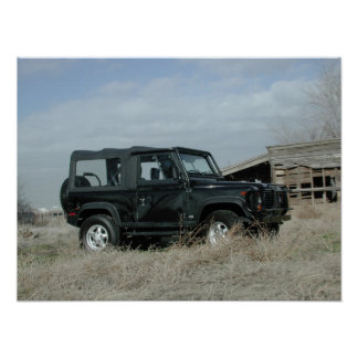 Land Rover Defender 90 Poster
