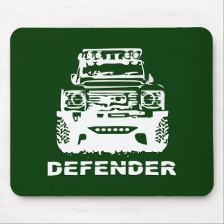 Land Rover Defender Classic Vintage Hiking Duck Mousemats