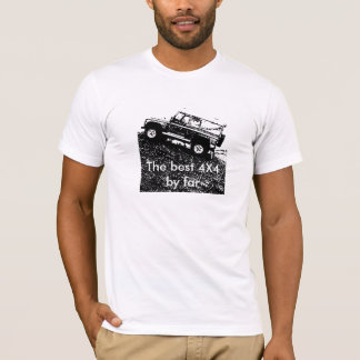 Land rover Defender .The best 4X4 by far T shirt