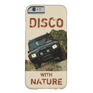 LAND ROVER DISCOVERY - DISCO WITH NATURE BARELY THERE iPhone 6 CASE
