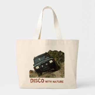 LAND ROVER DISCOVERY - DISCO WITH NATURE LARGE TOTE BAG