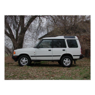 Land Rover Discovery Poster