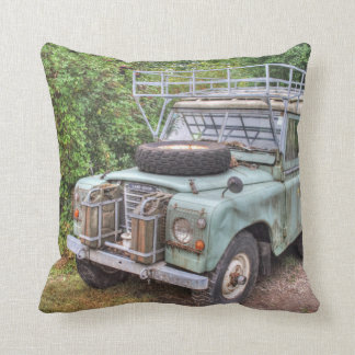 Land Rover Series III 109 Throw Pillow