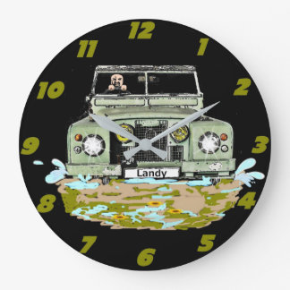 Land Rover Series Wall Clock