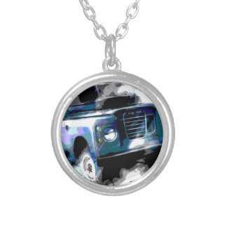 Land Rover Silver Plated Necklace