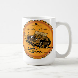 Land Rover Tough Coffee Mug
