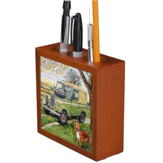 Land Rovers Pen & Pencil Organiser Pencil/Pen Holder