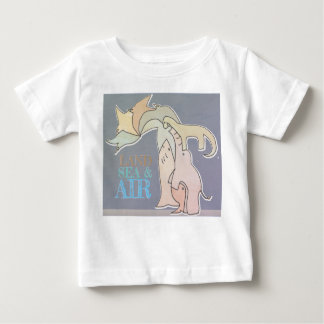 Land Sea & Air - Kid T Shirt - Rustic Colors