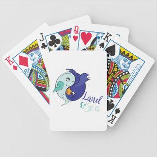Land & Sea Bicycle Playing Cards