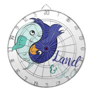 Land & Sea Dartboard