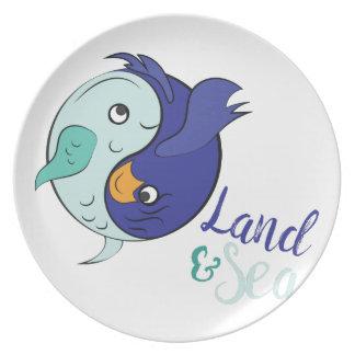 Land & Sea Dinner Plate