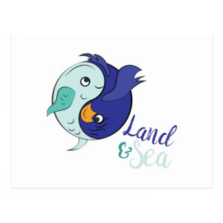 Land & Sea Postcard