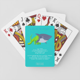 Land Shark Drink Recipe Poker Deck