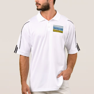 Land strip in water polo shirt