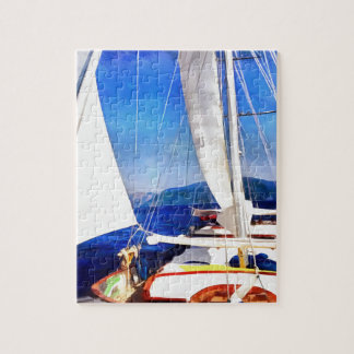 Land Was Created For Boats To Visit Jigsaw Puzzle