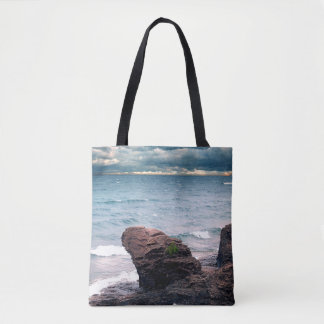 Land Water Sky Tote Bag