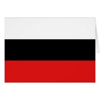 Landen, Belgium flag Card