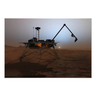 Lander 3 de Phoenix Mars Tirage Photo