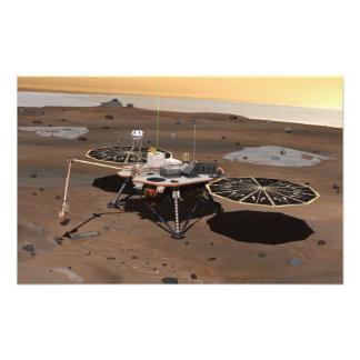 Lander de Phoenix Mars Photo Sur Toile