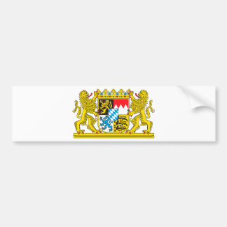 Landeswappen Bavarian Bumper Sticker