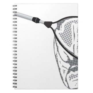 Landing fishing net vector illustration clip-art notebooks