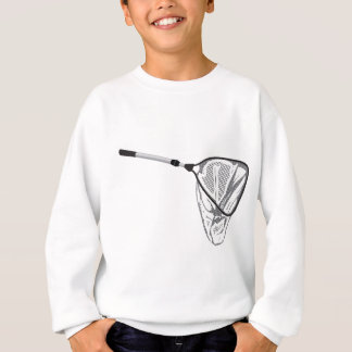 Landing fishing net vector illustration clip-art sweatshirt