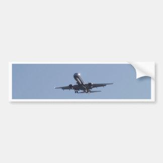 Landing Into The Sun Bumper Sticker