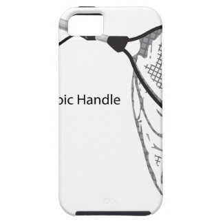 Landing net for fishing illustration marked case for the iPhone 5