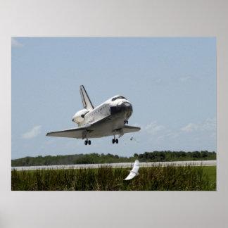 Landing of Space Shuttle Atlantis (STS-110) Poster