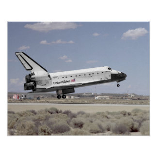 Landing of Space Shuttle Discovery (STS-64) Print